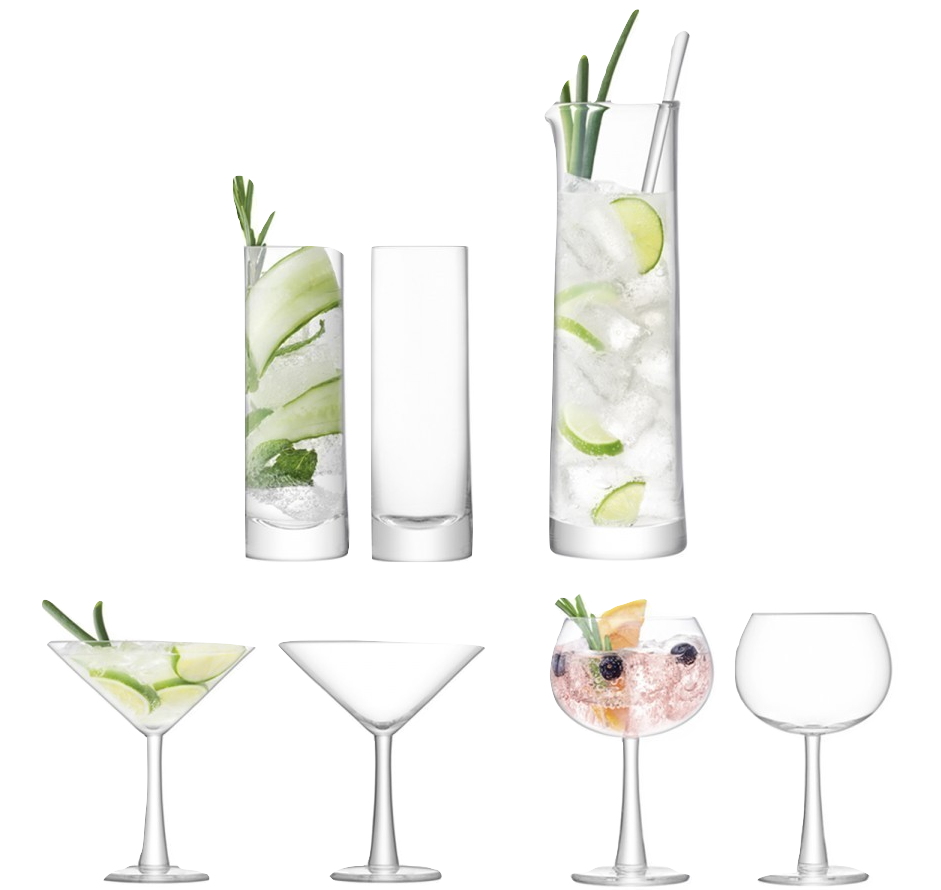Gin Cocktail Set (x7) - Wedding Gift Registry Nigeria