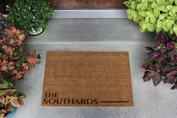 Personalised Doormat - Wedding Gift Registry Nigeria