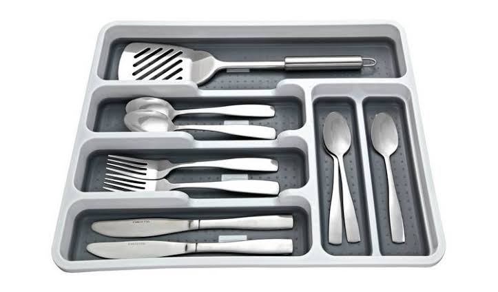 Addis Cutlery Drawer - White