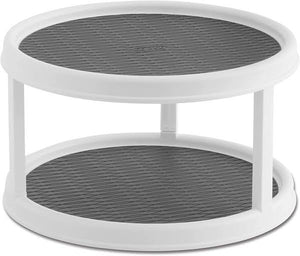 Non Skid 2-Tier Lazy Susan, 2 Pack