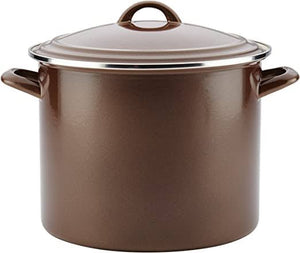 Ayesha Curry Enamel on Steel Stock Pot