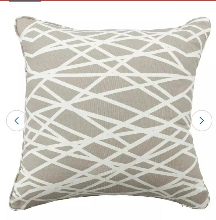 Abstraction Printed Cushion
