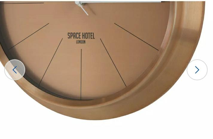 Space Hotel Ace Asteroid Wall Clock