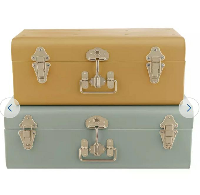 Habitat Artisan Storage Trunk, Set of 2