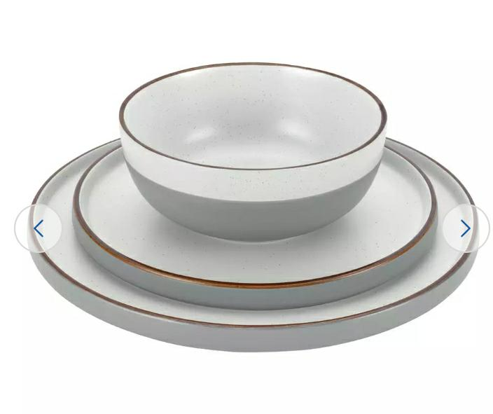 Loft Living Speckle 12 Piece Dinner Set