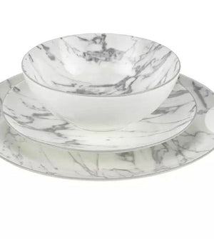 Marble Home 12 Piece Dinner Set