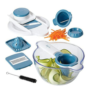 Ayesha Curry Collection 5-in-1 Mandoline Spiraliser Set