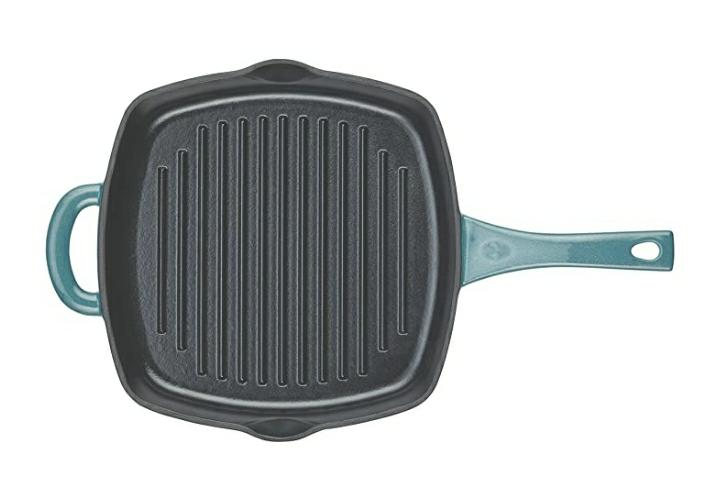 Ayesha Curry Cast Iron Grill Frying Pan