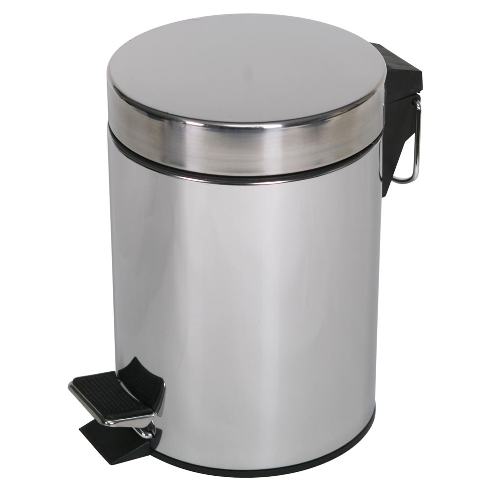 Simple Value 5L Stainless Steel Pedal Bin - Wedding Gift Registry Nigeria