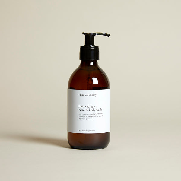 Lime & Ginger Hand & Body Wash
