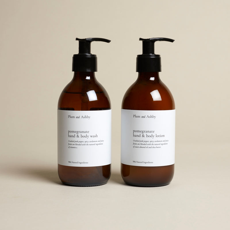 Pomegranate Hand & Body Wash and Lotion