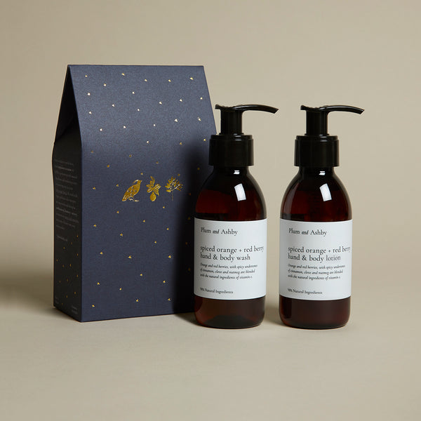Duo Gift Set Spiced Orange & Red Berry Wash & Lotion