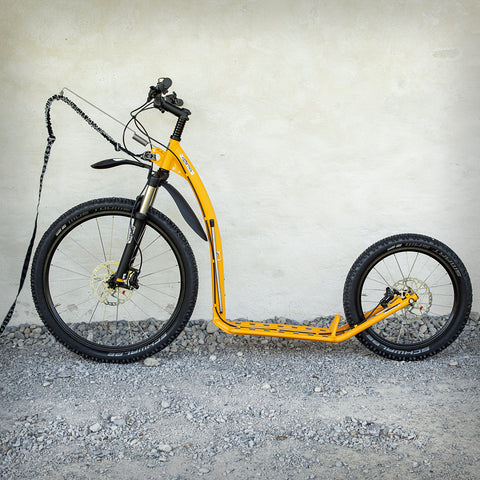 MUSHING PRO SCOOTER (G5) SONDERFARBE MELONENGELB