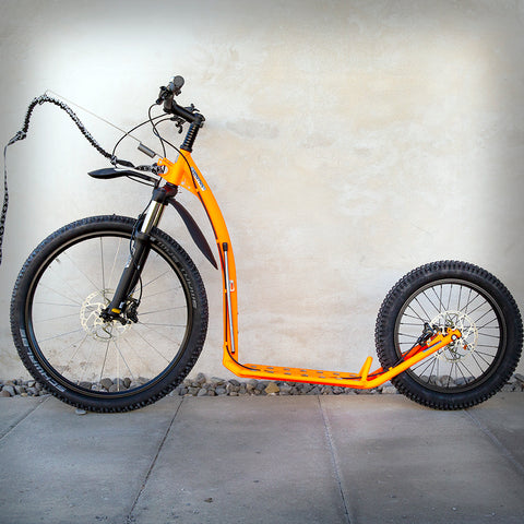 MUSHING PRO SCOOTER (G5) SONDERFARBE NEONORANGE