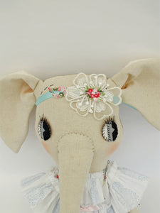 headpiece - teal for 56cm grande doll