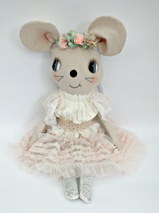 MADE TO ORDER 56cm grande dolls ~ tulle/lace confection