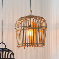 Rattan Pendant Shade in Natural