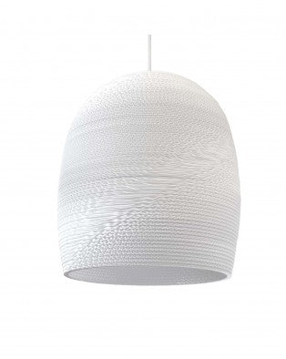Graypants Bell16 Pendant - white