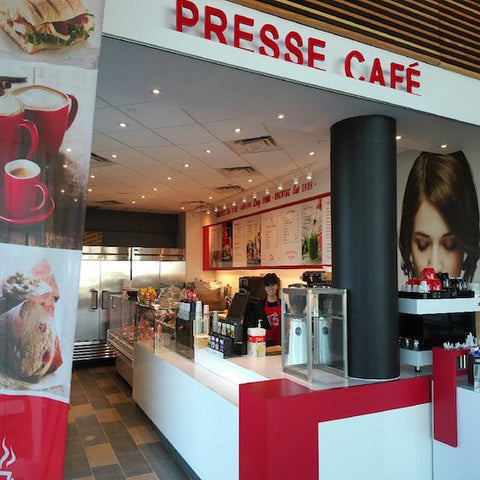 Presse Cafe - Pan am  Order online and pick up at the store