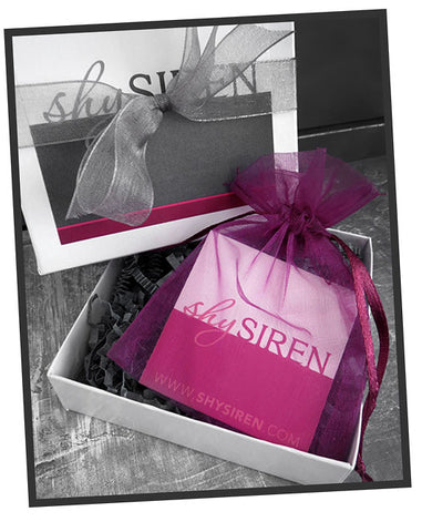 Shy Siren Signature Gift Packaging