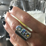 ETHEREAL - Heavenly Swarovski Crystal Trio Ring