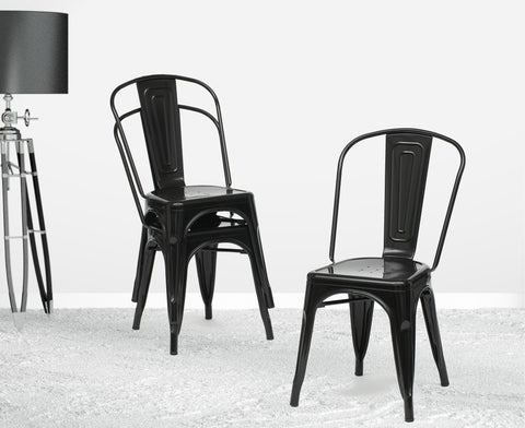 Black French Chair