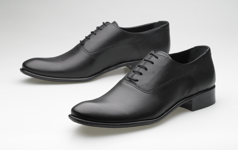 Leather Oxford black