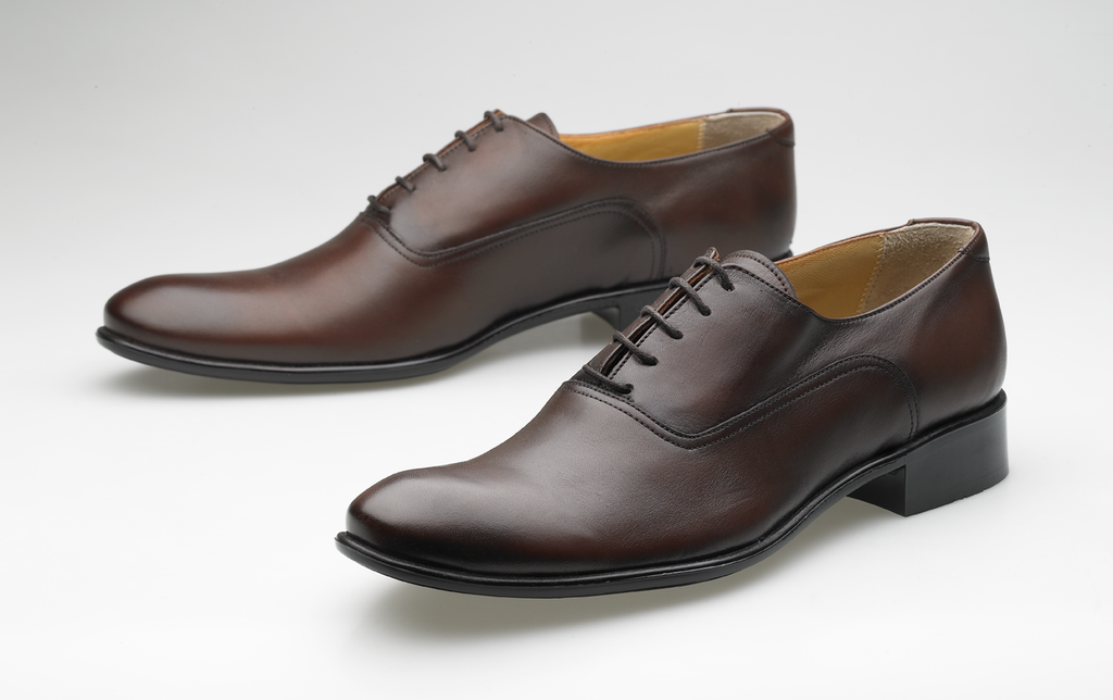 Leather Oxford brown