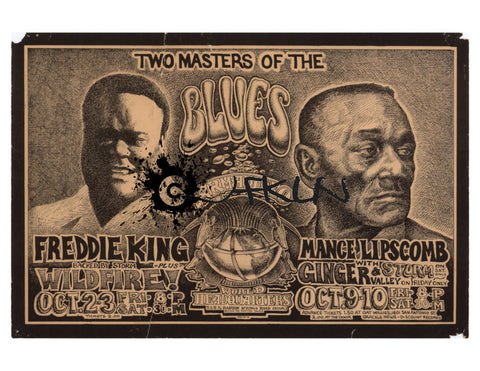 Two Masters of the Blues - Freddie King, Mance Lipscomb, AWHQ
