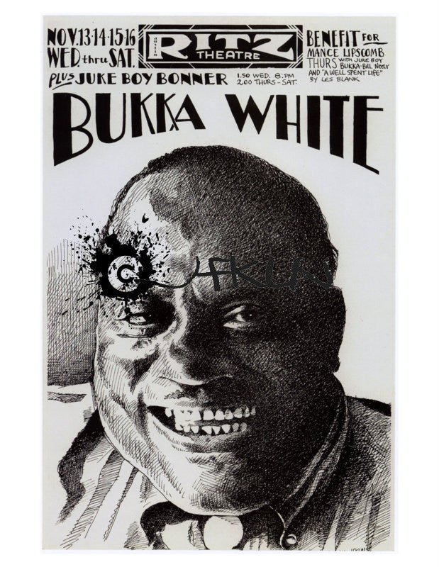 Bukka White & Juke Boy Bonner at the Ritz - Nov 13 - 16, 1974