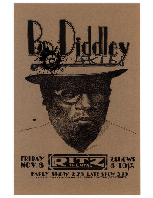 Bo Diddley with Storm - Ritz Theatre - Nov 6, 1974