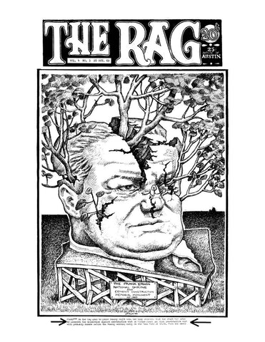 The Rag - Vol. 4 No. 3  October 1969 - Cover