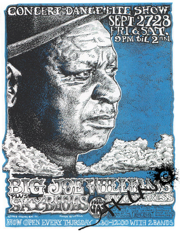 Big Joe Williams Handbill - Vulcan Gas Company - Sept. 27 & 28th