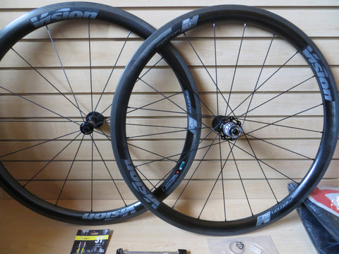 Vision Metron 40 SL  Carbon Fiber Clincher Wheel Set