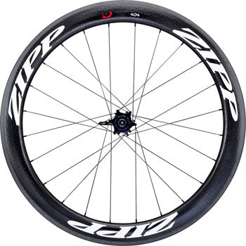 Zipp 404 Firecrest Carbon Clincher Rear Wheel, 700c, 24 Spokes, 10/11 Speed SRAM Cassette Body, 177, V3, White Decal