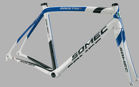 Somec made to measure Maestro carbon racing frame/fork/headset