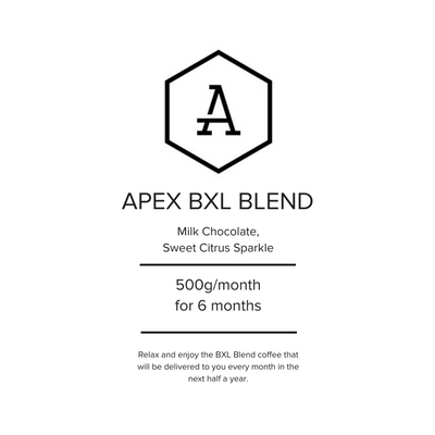 Apex BXL Blend - 6 months Subscription