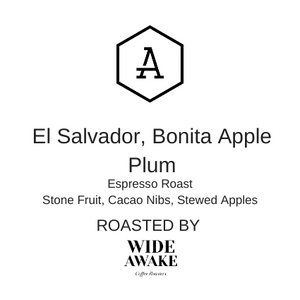 Wide Awake - El Salvador, Bonita Apple Plum