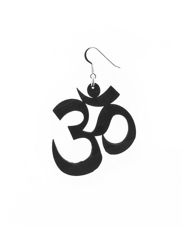 AUM recycled earring