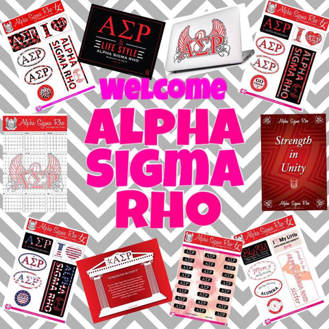 10/13 Welcome Alpha Sigma Rho