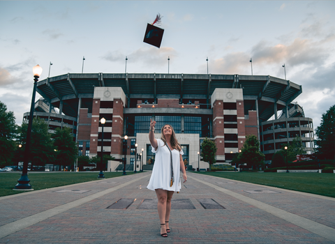 Girl graduation photo, Photo by Jonathan Daniels on Unsplash