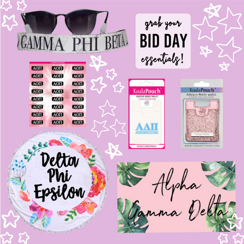 Bid Day Essentials!
