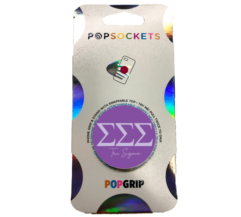 Sigma Sigma Sigma 2-Color PopSocket