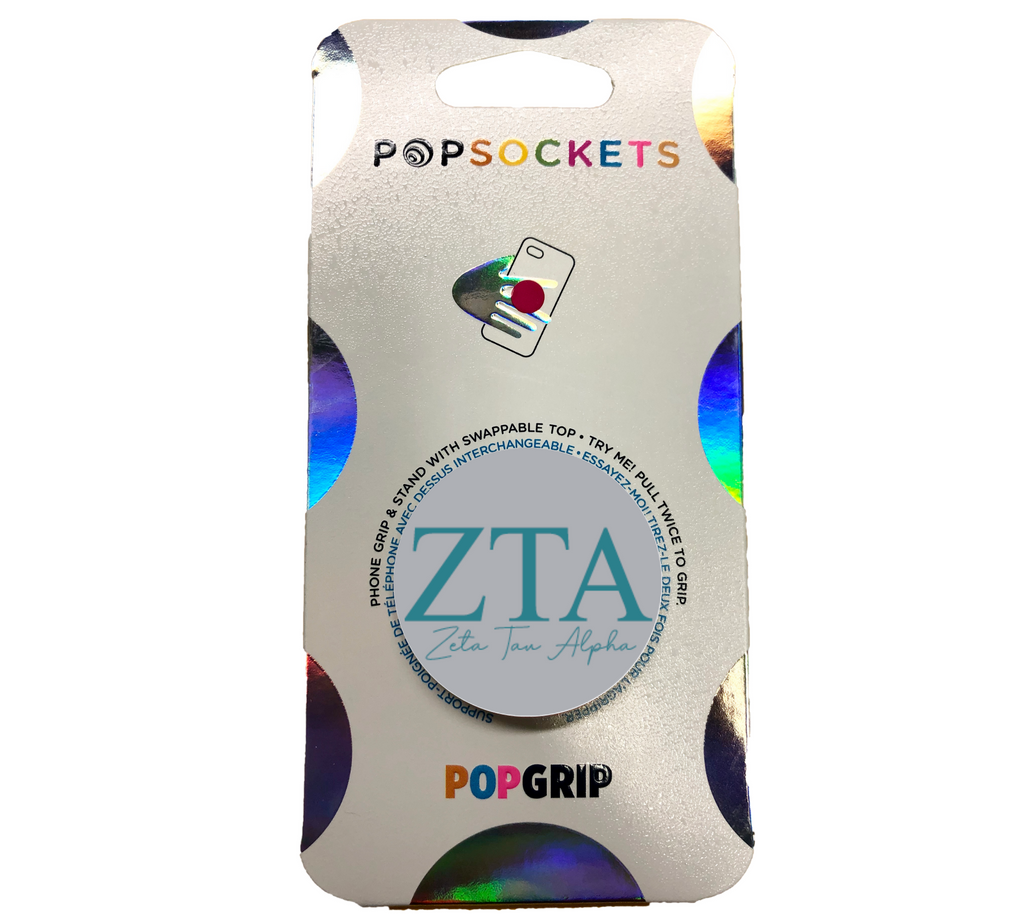 Zeta Tau Alpha 2-Color PopSocket