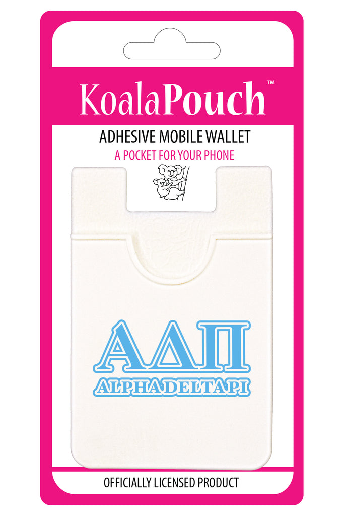 Alpha Delta Pi <br> Koala Pouch<br>Adhesive wallet for your phone