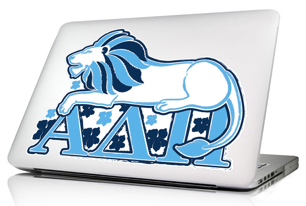 Alpha Delta Pi 10 x 8  Laptop Skin/Wall Decal