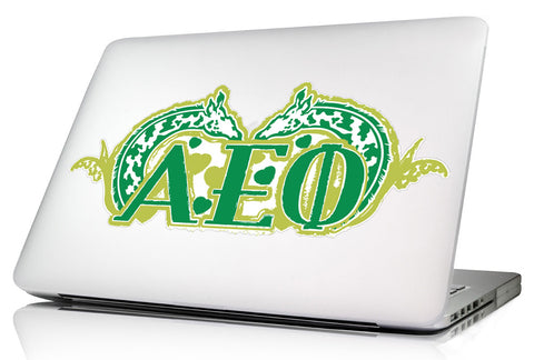 Alpha Epsilon Phi 11.75 x 5 Laptop Skin/Wall Decal