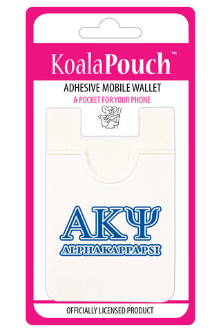 Alpha Kappa Psi <br> Koala Pouch<br>Adhesive wallet for your phone