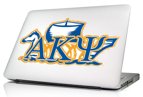 Alpha Kappa Psi <br>11.75 x 6 Laptop Skin/Wall Decal