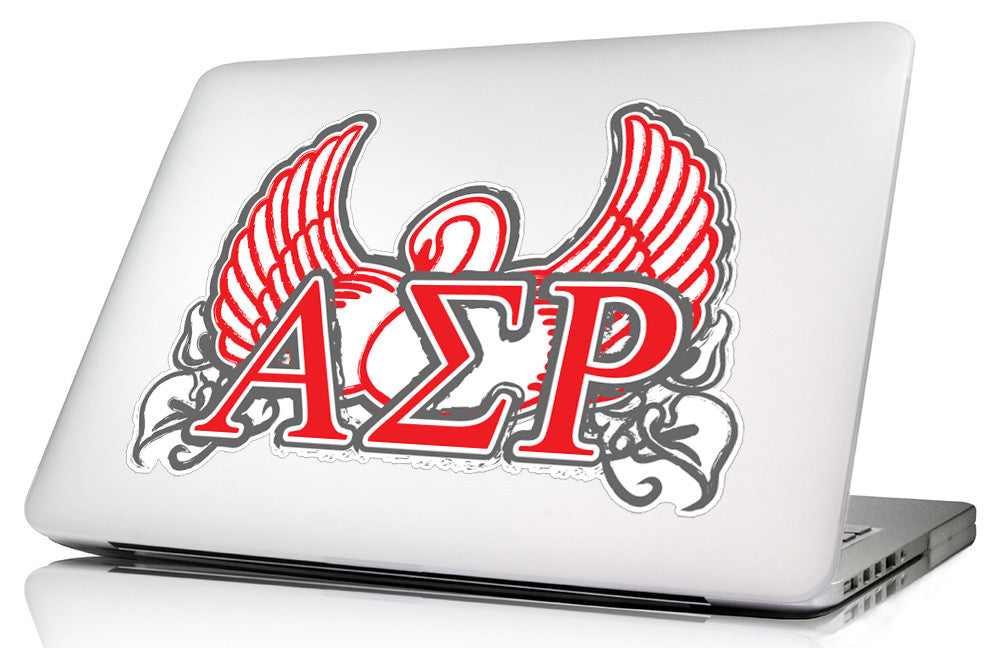 Alpha Sigma Rho <br>11.75 x 5.5 Laptop Skin/Wall Decal